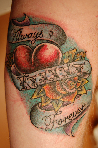 Tattooing your Lover's Name on Your Body is Stupid!
