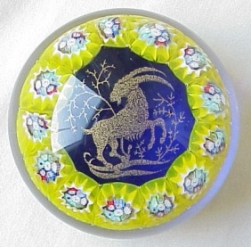 capricorn zodiac horoscope paperweight